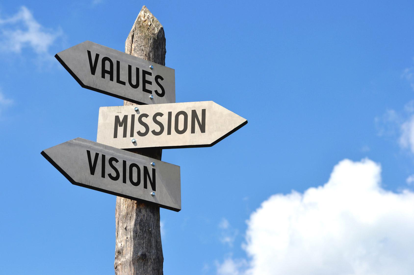 Differenza tra Vision e Mission nel piano strategico aziendale